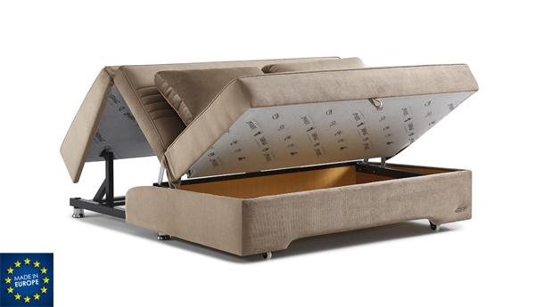 ספת מיטה דגם מדריד